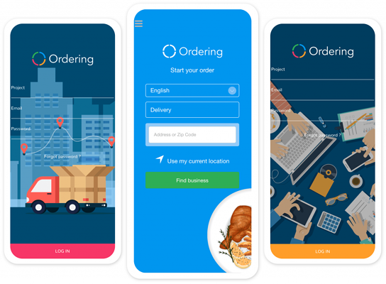 Ordering Apps | Delivery App | business App | Ordering App