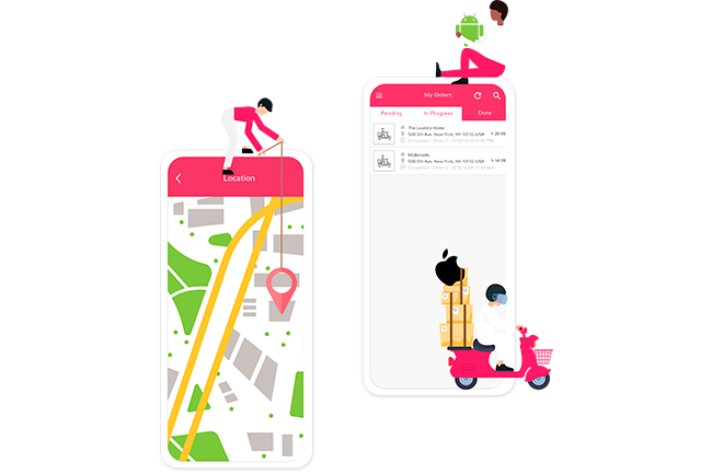 Delivery App Header | Ordering | Resellers Program