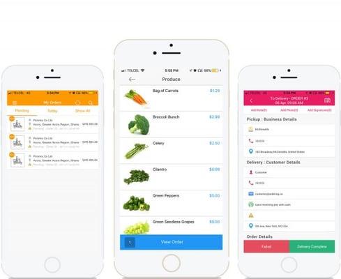 On Demand Delivery App Builder