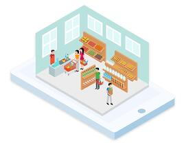 online ordering app | Ordering co | Groceries Vertical