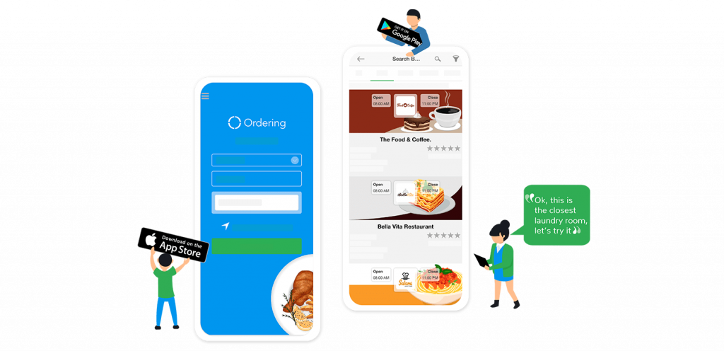 Ordering App | E-commerce Apps for iOS & Android