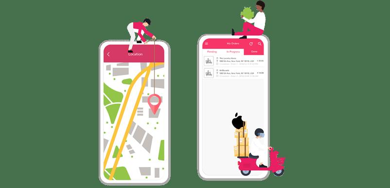 Delivery App Header | Ordering | Resellers Program