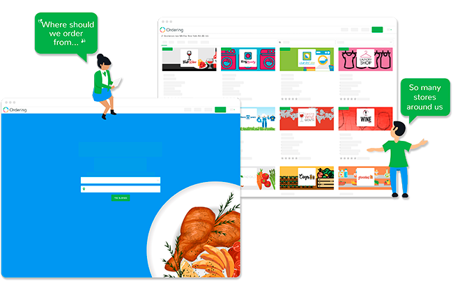 Multi Store Ordering Website | E-commerce platform | Ordering
