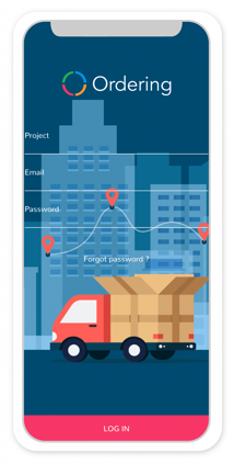 Delivery App for iOS devices | Ordering co