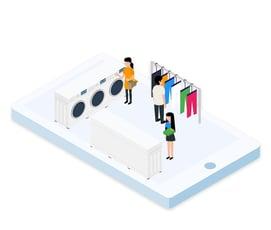 online ordering app | Ordering co | Laundry Vertical
