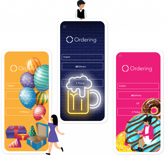 Single Business App | Ordering co | iOS & Android Apps