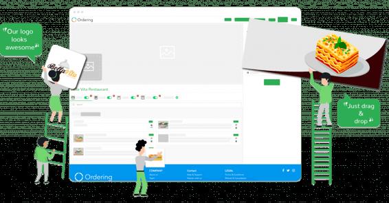 Ordering Editor in Ordering | Design your own website | Online Ordering website