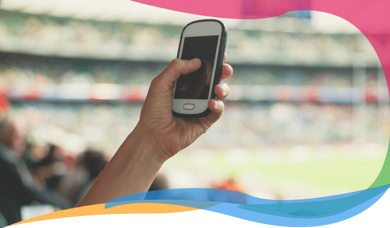 Mobile ordering & delivery within sports arenas & stadiums