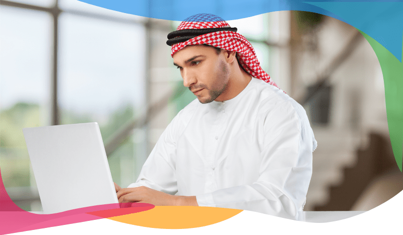 Online ordering system for Saudi Arabia